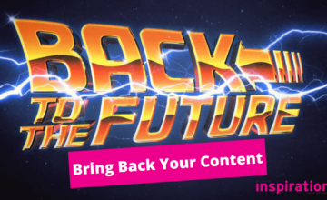 Back to the future -updating publication date on your content