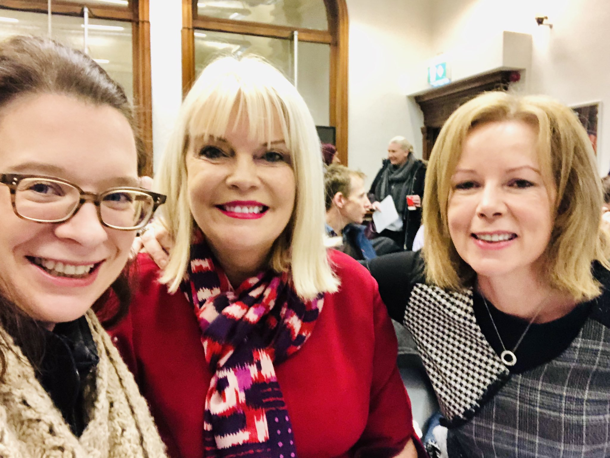 Cllr Lorraine Hall, Minister Mary Mitchell O'Connor with Cathy, Inspiration 28/11/2019