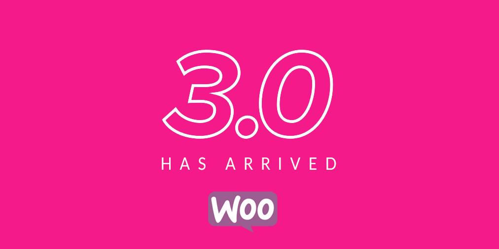 WooCommer 3 Upgrade