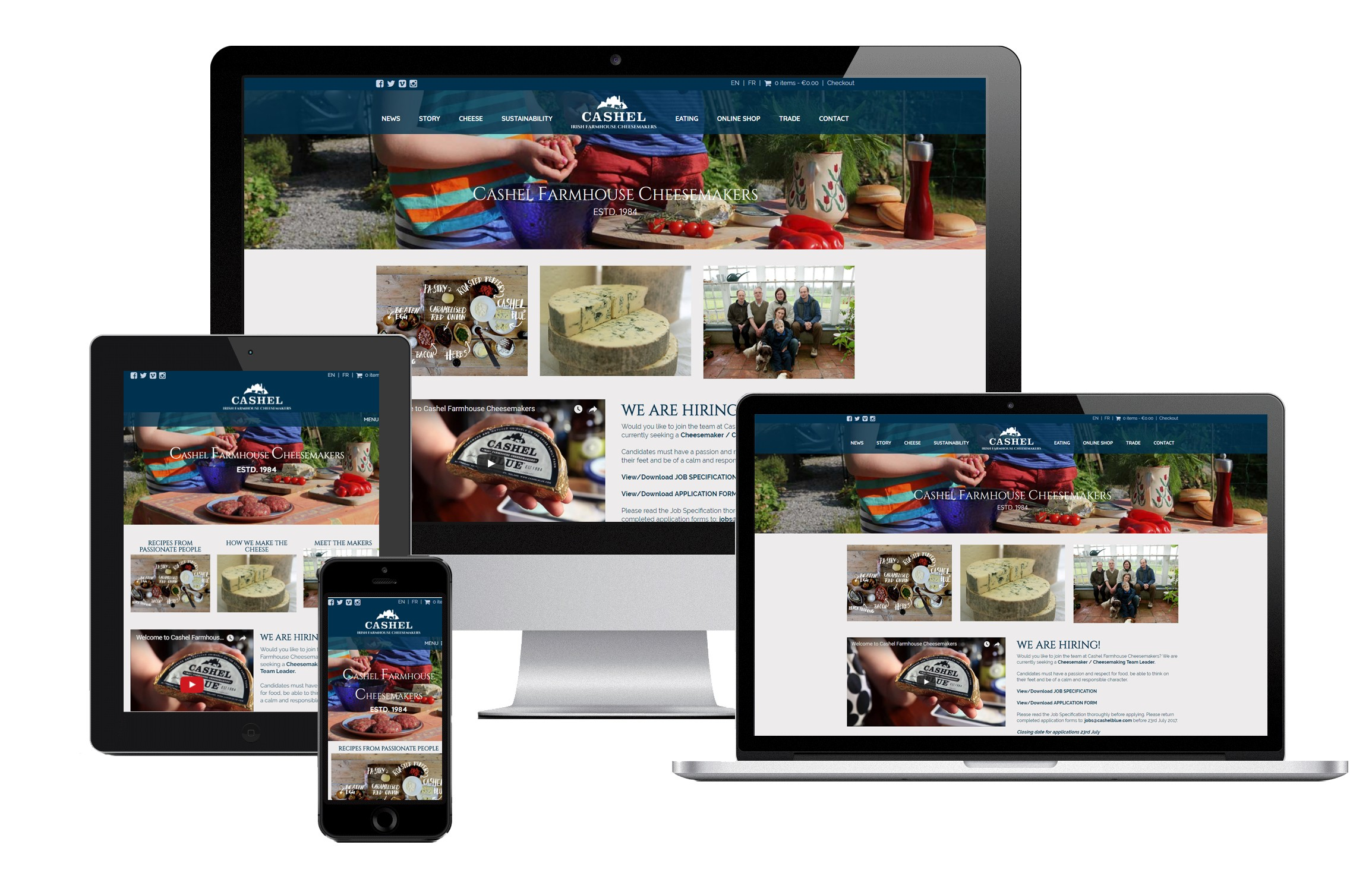 Responsive Website Design Images for Inspiration Marketing's Website