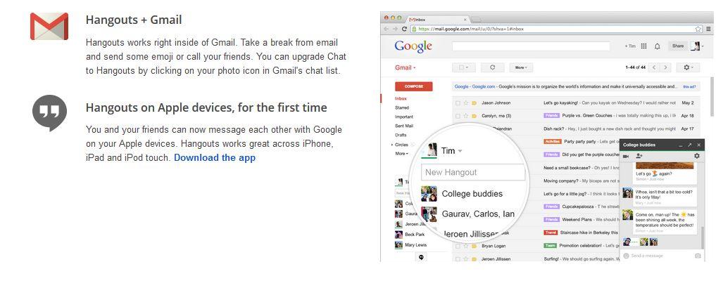 Google+ hangouts 3