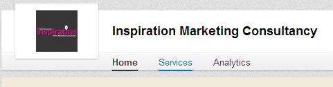 Inspiration Marketing LinkedIn Page