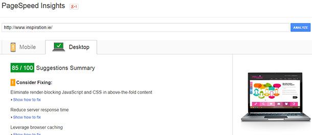 SEO Tools , SEO Reporting Tools Google Speed Testing Tool