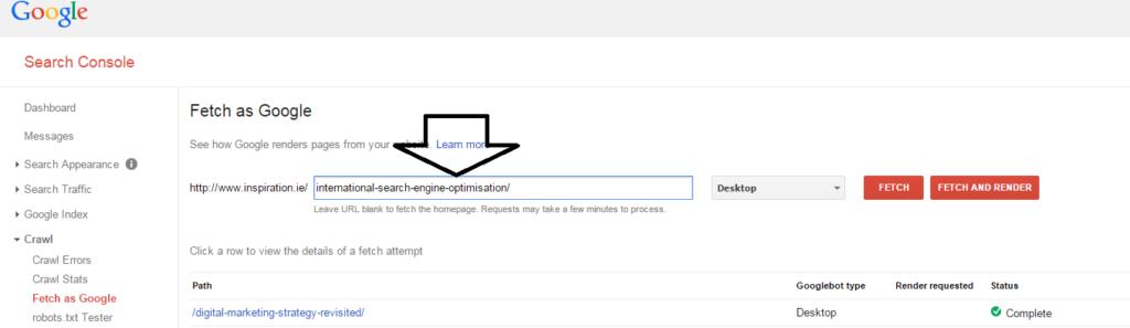 seo inspiration International Search Engine Optimisation guide